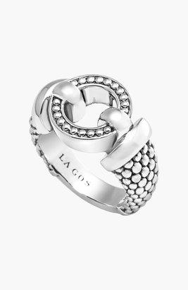 Lagos 'Enso' Caviar(TM) Ring