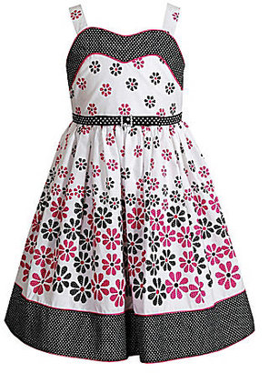 Sweet Heart Rose 2T-6X Sleeveless Floral Woven Dress