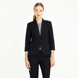 Super Sidney jacket in pinstripe 120s wool