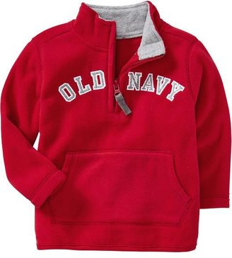 Old Navy Micro Performance Fleece 1/2-Zip Pullovers for Baby