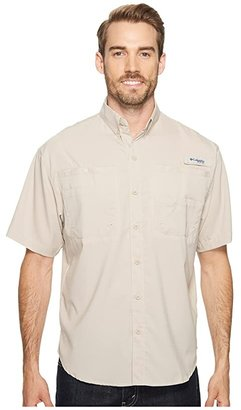 Columbia Tamiamitm II S/S (Cool Grey) Men's Short Sleeve Button Up