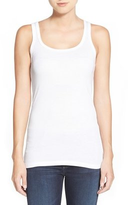 Women's Splendid Ribbed Tank $38 thestylecure.com