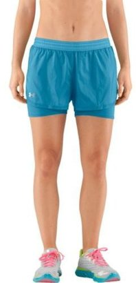 Under Armour Women's See Me Go Translucent 2-in-1 Shorts