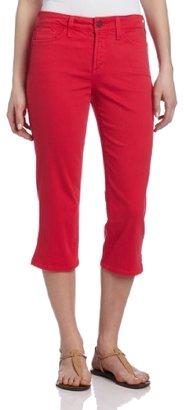 NYDJ Women's Nanette Crop Colored Denim Jean