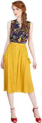 Just Dandy Skirt in Goldenrod