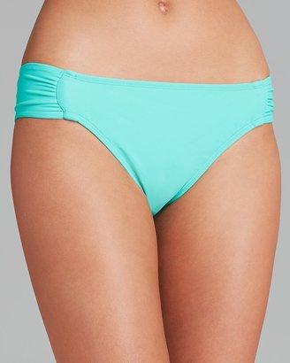 Shoshanna Solid Tab Bikini Bottom