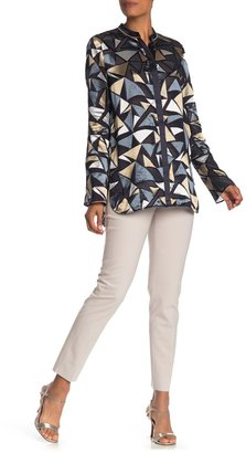 Lafayette 148 New York Side Zip Stretch Wool Pants