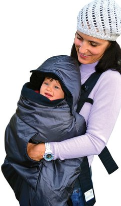 Bed Bath & Beyond Tivoli Couture Mommy's Hug 3-in-1 Baby Carrier Weather Cover in Grey