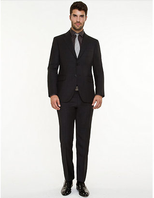 Le Château Italian Wool Two-Piece Slim Fit Suit