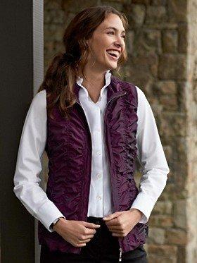 Pendleton Ruched Vest