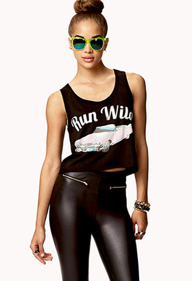 Forever 21 Run Wild Muscle Tee