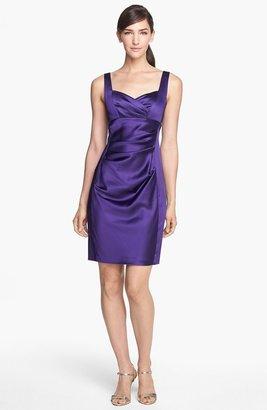 Donna Morgan 'Sophia' Satin Sheath Dress