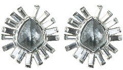 Alexis Bittar Bel Air Grey Quartz Earrings