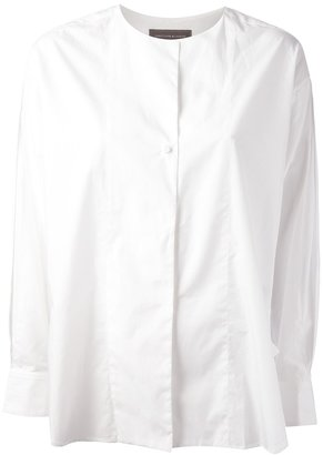 Christophe Lemaire collarless shirt