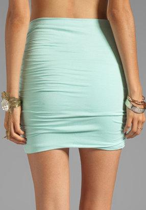 Free People Essential Scrunch Mini Skirt