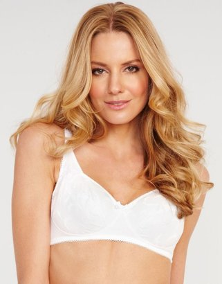 Playtex Embroidered Cotton Soft Cup Bra