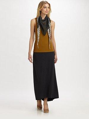Eileen Fisher Hemp/Organic Cotton Skirt