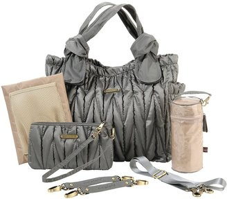 Timi & Leslie Marie Antoinette Diaper Bag - Silver