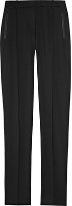 Jason Wu Stretch wool-blend tuxedo pants