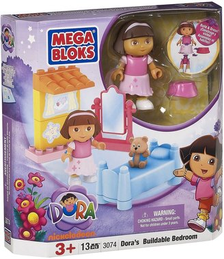 Mega Bloks Dora's Buildable Bedroom (13 pcs)