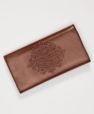 Levi's Embossed Leather Long Wallet