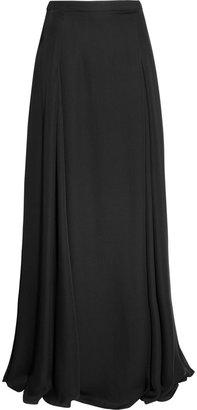 Derek Lam Silk-georgette maxi skirt