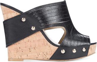 INC International Concepts Women's Vanessah2 Platform Wedge Sandals