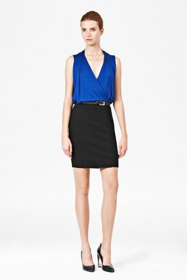 French Connection Zoe Draped Jersey Dress