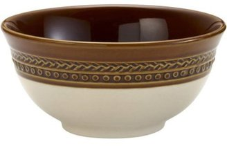 Paula Deen Set of 4 Southern Gathering Cereal Bowls, Chestnut