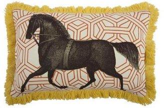 Thomas Paul Bloomsbury Horse Pillow