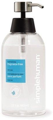 Simplehuman fragrance-free liquid hand soap