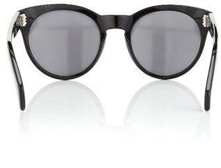 Oliver Peoples Black Alivia Cat-Eye Sunglasses