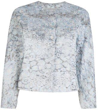 Giorgio Armani lamé brocade jacket