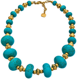 Carolee Turquoise Beaded Statement Necklace