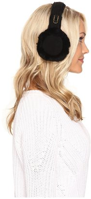 UGG Double-U Logo Shearling Earmuff Cold Weather Hats