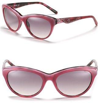 Just Cavalli Cat Eye Sunglasses with Studs