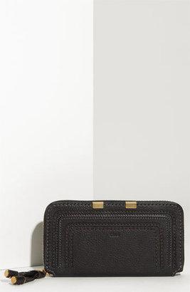Chloé Women's 'Marcie - Long' Zip Around Wallet - Black