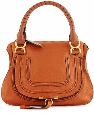 Chloé Marcie Large Leather Satchel Bag