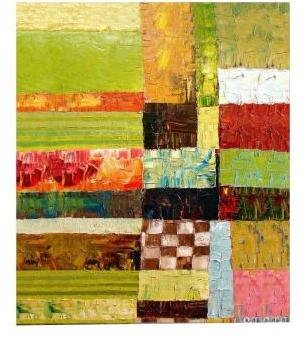 STUDY Trademark Fine Art 18 in. x 24 in. Abstract Color Canvas Art