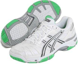 Asics GEL-Game 3 (White/Storm/Irish Green) - Footwear