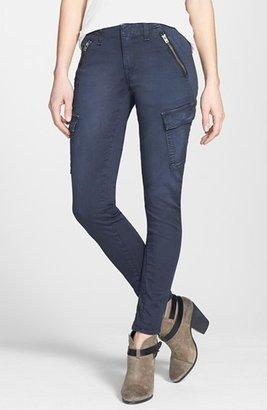 Rag and Bone 'Bowery' Cargo Skinny Jeans (Distressed Navy)
