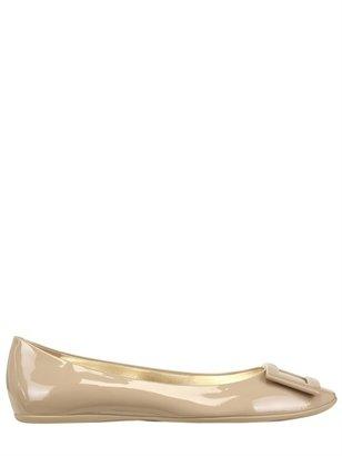 Roger Vivier Gommette Patent Leather Ballerina Flats
