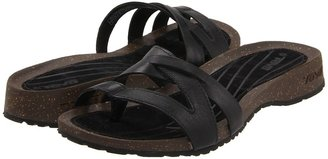 Teva Cabrillo Toe Post (Black) - Footwear