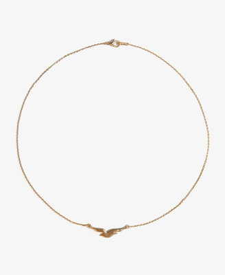 Forever 21 Bird Charm Necklace