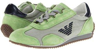 Armani Junior T2593 QK (Little Kid/Big Kid) (Green) - Footwear