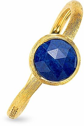 Marco Bicego Jaipur Lapis Ring in 18K Yellow Gold $505 thestylecure.com