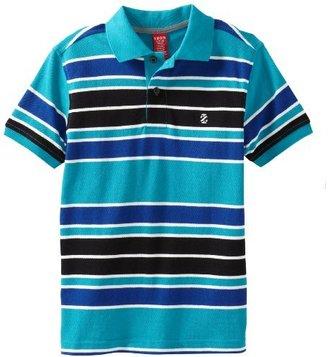 Izod Boys 8-20 Short Sleeve Pique Stripe Polo