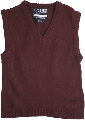 French Toast V-Neck Sweater Vest - Boys 4-7x