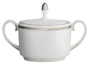 Wedgwood Dinnerware, Silver Aster Imperial Sugar Bowl