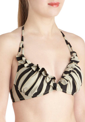 Betsey Johnson Pools and Thank You Swimsuit Top